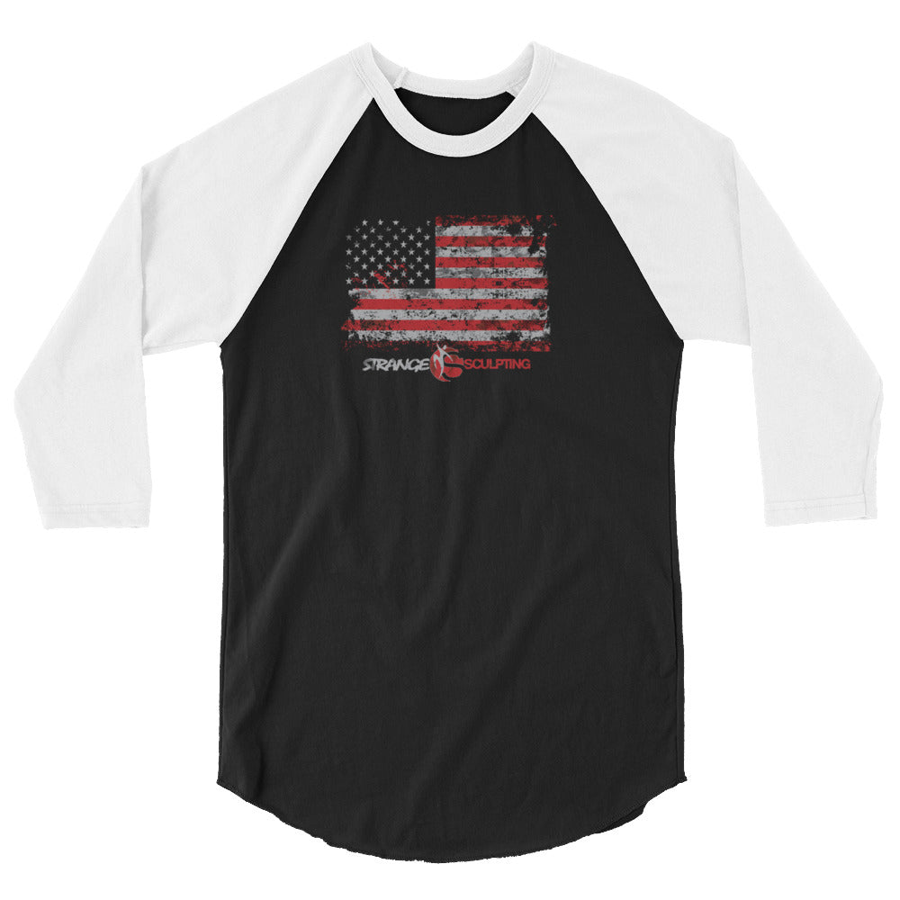RUGGED FLAG 3/4 sleeve