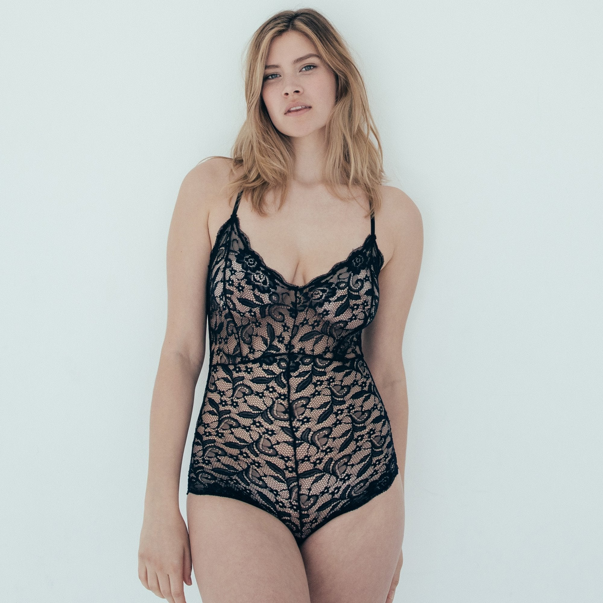 9928ca51e Lace CrissCross Back Body suit
