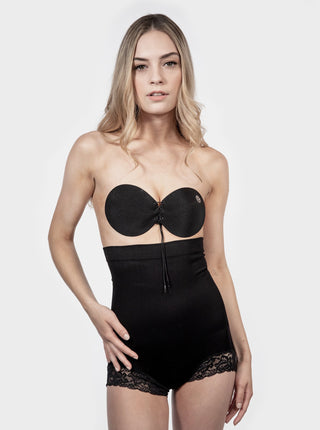 High Waisted Shapewear Brief - Black