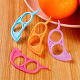 10pcs Fruit Tools Mouse Model Orange Opener Peeler Kitchen Accessories Vegetable Cutter