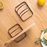 Cutting Board Iron Multi-Layer Pot Cover Rack Kitchen Shelf