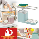 Household Dishwashing Soap Liquid Press Dispenser Storage