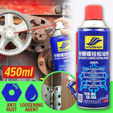 450ml Rust Remover Cleaner and Loosening Agent Anti Rust Spray