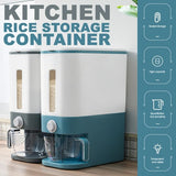 [ 10KG Storage ] Kitchen Household Rice Cereal Storage Sealed Container Dispenser