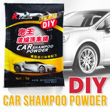 [ 10 PACKS ] DIY Bubble Cleaning Car Shampoo Powder [ 5g Per pack ]