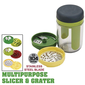 3 in 1 Multipurpose Handheld Spiralizer Food Slicer Grater