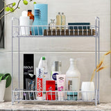 2 Tiers Kitchen Rack Seasoning Kitchen Organizer