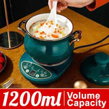 [ 1200ml ] Ceramic Multifunction Electric Health Cut Pot