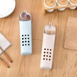Wall Hanging Chopsticks Cage with Cover Kitchen Drain Storage Rack