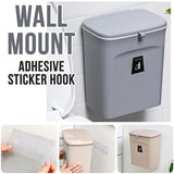 Wall Mounted Hanging Kitchen Household Waste Bin Trash Can