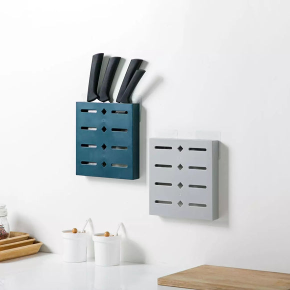 Kitchen Organizer Wall Mounted Kitchenware Storage Block Multi Rack