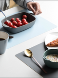 Silicone non-slip and insulated table mat