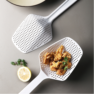 Kitchen multi-function colander&household noodles macaroni filter spoon& fishing noodle spoon& high temperature resistant& fried oil drain spoon