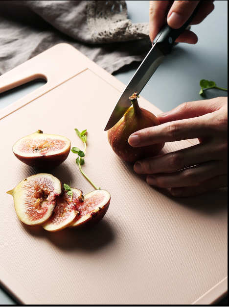 PP plastic rectangular cutting board anti-slippery, mildew, thickened cutting board fruit and vegetable cutting board cooking board