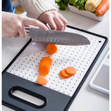 PP plastic creative chopping board home fruit bread board mildew wall hanging rectangular small board kitchen cutting board