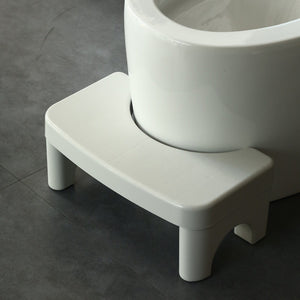 Folding Squatting Stool Foldable Toilet Stool Convenient and Compact Great for Travel Fits All Toilets