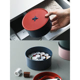 Button sewing box& household,&easy to carry& 3 colors7 multi-function box,&tool box,&sewing tools