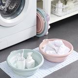Multi-Purpose Collapsible Wash Basin Portable Folding Basin with Hanging Hole & Save Storage Space for Home Kit