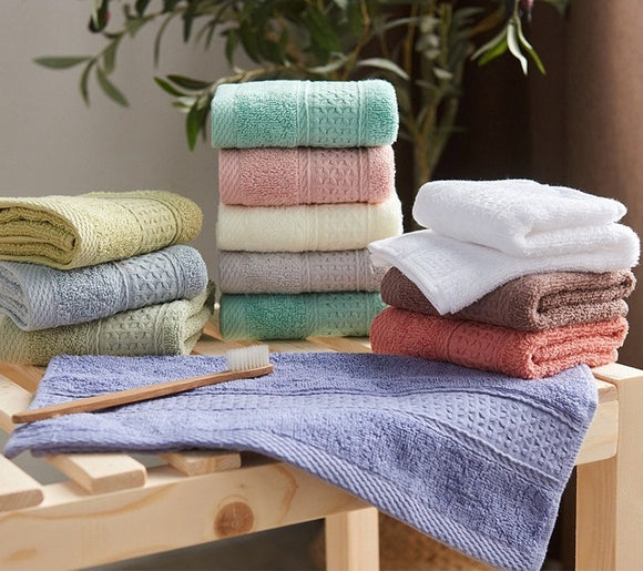 Luxury Bath Towel Set Cotton Towels - 6pcs