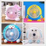 Student Dormitory AC Electric Silent Cool Fan Desktop Office Table Fan