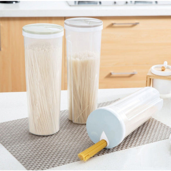 Kitchen Rice Dispenser Storage Container Food Container Storage Organizers Canisters Noodles Container