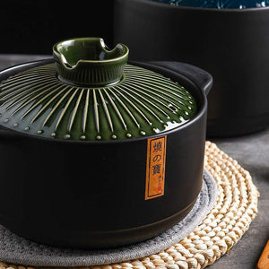 Spodumene pot、 gas stove special stew pot, large soup rice pot, household soup pot