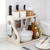 Large Capacity Kitchen Organizer and Bathroom Rack