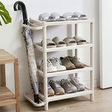 4Layer High Quality Home Shoes Rack Umbrella Holder Storage Rack Shoe Organizers