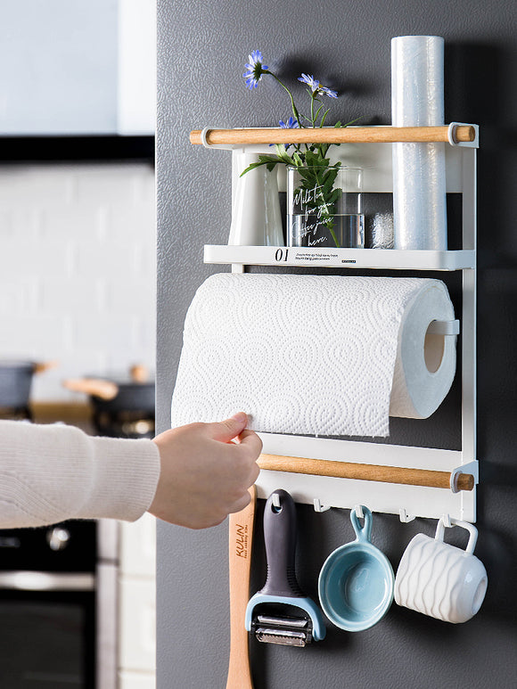 Creative Iron art magnetic storage dish rack kitchen cabinet storage rack lunch box rack kitchen rak pinggan dish drainer shelf rack kitchen storage cake stand stainless steel kitchen rack food container cake mould dish spice