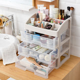 3 Tier office File Stationery Storage cosmetics with Drawer Cosmetic Storage