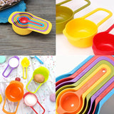 6pcs Kitchen Baking Cooking Measuring Spoon Scoop Set