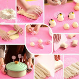 [ 50 x 40cm ] Dough Kneading Silicone Pad Food Grade