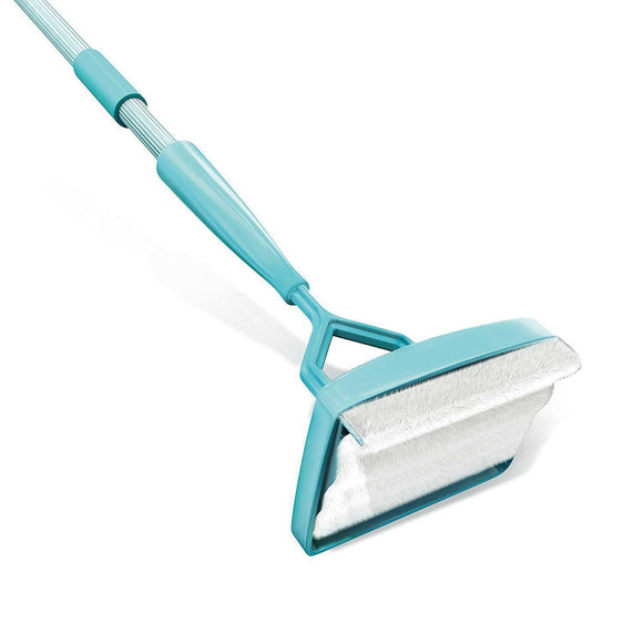 Easy Baseboard Cleaning Mop Stick Dust Cleaner Duster with Microfiber Adjustable Rod
