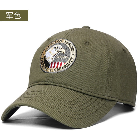 Cotton outdoor Sport Adjustable Men Women cap size 56-60cm 60-66cm