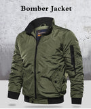 Winter Bomber Jackets Army Air Force Fly Pilot Men Windproof Thicken Warm Jacket Casual Zipper Coat Korean Parka Clothing