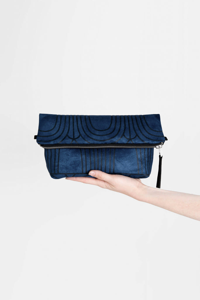 Everything Arches Crossbody Bag in Indigo