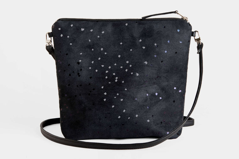 Everything Confetti Crossbody Bag in Black