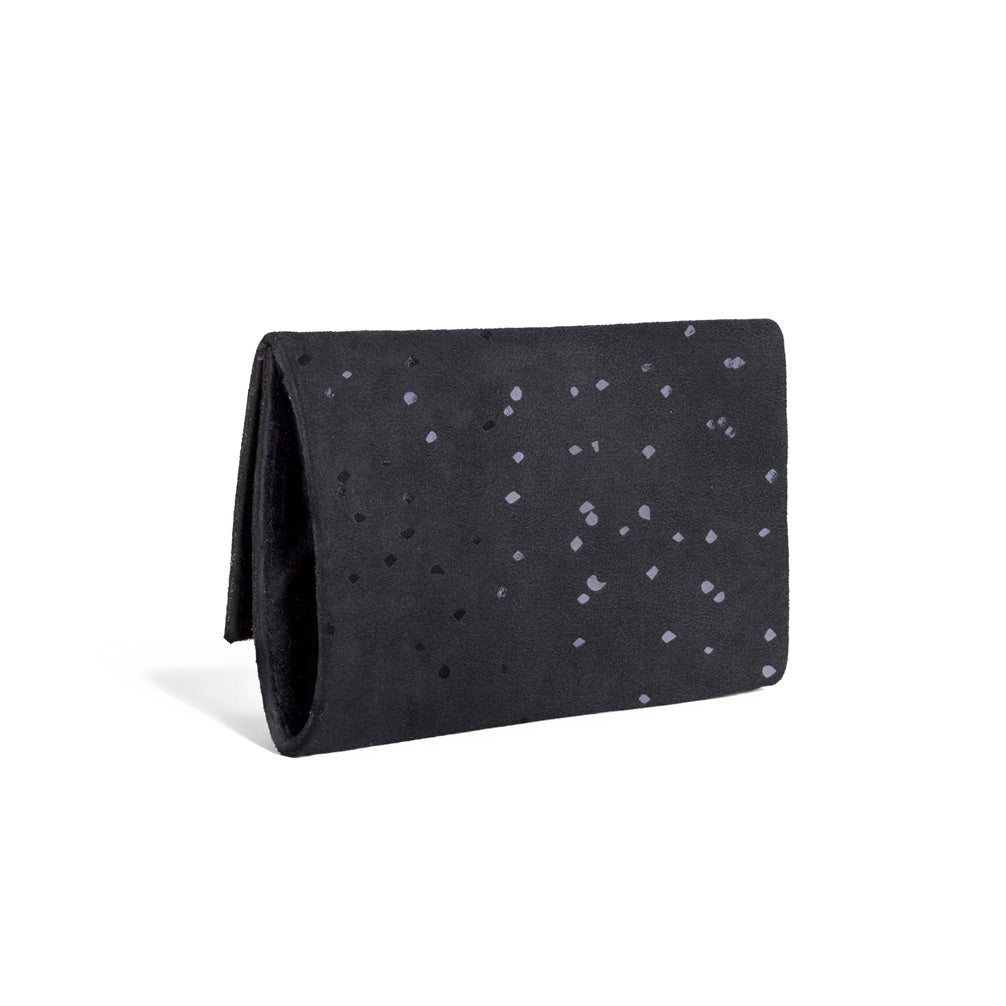 Black Confetti Wallet and Crossbody