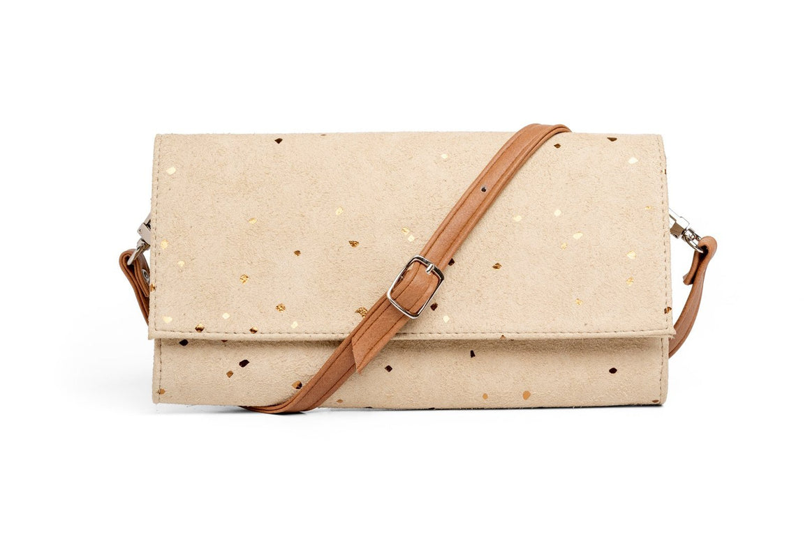 Confetti Sand Wallet and Crossbody