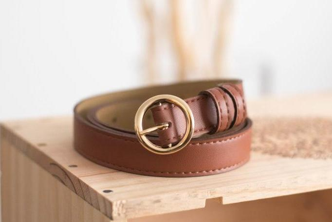 Rhapsodie Vegan Belt in Brown