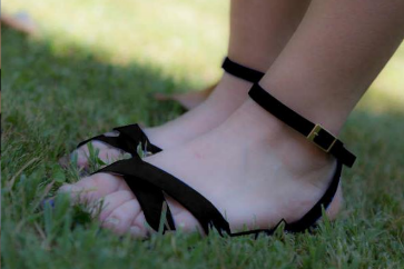 Marie-Hélène Vegan Sandal in Black