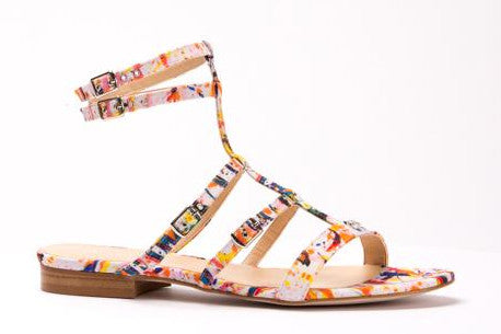 Plage Multi-Colored Sandal Flat