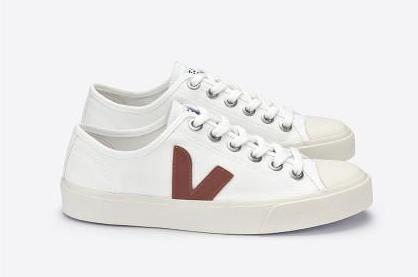 Veja White with Dried Petal Pink Vegan Sneaker
