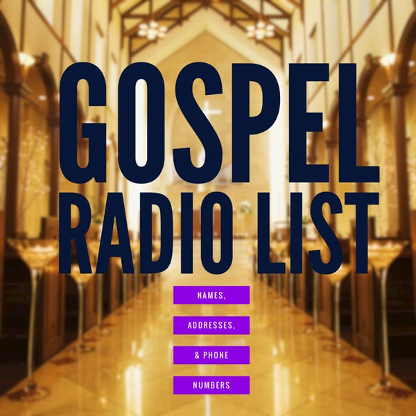 Gospel Radio List