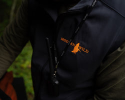 Modern Wild Woodcock Logo & Softshell Fleece Lined Vest