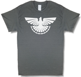 """Thunder Grouse"" Ruffed Grouse Hunting, Charcoal Gray Short Sleeve T-shirt - Modern Wild"