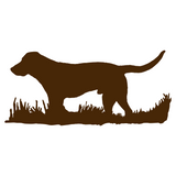 Labrador Retriever Bird Dog Silhouette, Upland Hunting Decal
