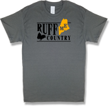 "Maine ""Ruff Country"" State Ruffed Grouse Hunting, Short Sleeve T-shirt - Modern Wild"