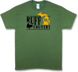 "Michigan ""Ruff Country"" State Ruffed Grouse Hunting, Short Sleeve T-shirt - Modern Wild"