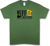 "Minnesota ""Ruff Country"" State Ruffed Grouse Hunting, Short Sleeve T-shirt - Modern Wild"